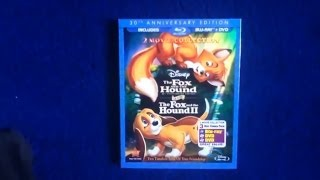 Unboxing The Fox And the Hound / The Fox and the Hound II Blu-Ray/DVD