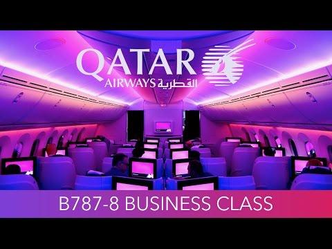 Qatar Airways B787 Business Class First Experience!