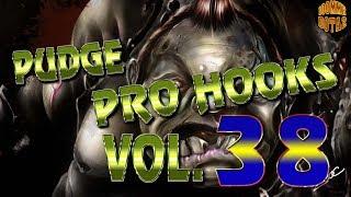 Dota 2 Pudge Pro Hooks 2018 - Weekly hooks VOL.38