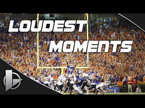 Florida Football - Loudest Moments In The Swamp
