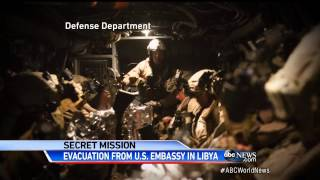 U.S. Evacuates Libya Embassy with F-16 Support