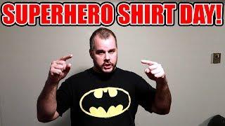 Superhero Shirt Friday