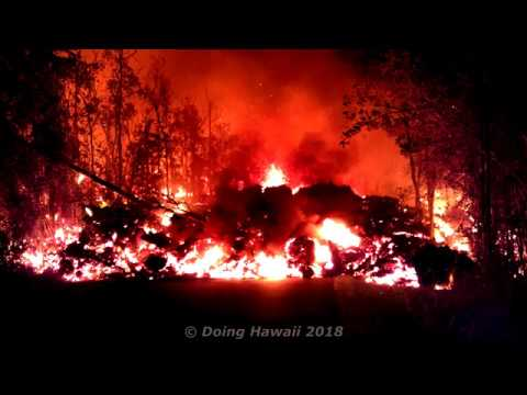 Hawaii Volcano Kilauea Eruption Leilani Estates News Update Report 6/27/2018