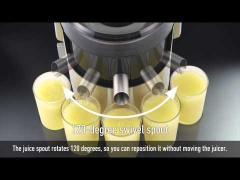 Introducing Panasonic Wide Tube Juicer MJ-DJ01 / MJ-SJ01