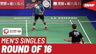 R16 | MS | Khosit PHETDRADAB (THA) vs. Viktor AXELSEN (DEN) [7] | BWF 2019