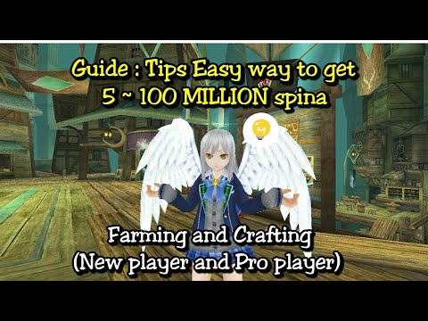 Toram Online - Guide : Easy way to get 5M ~ 100M (New player and Pro player)