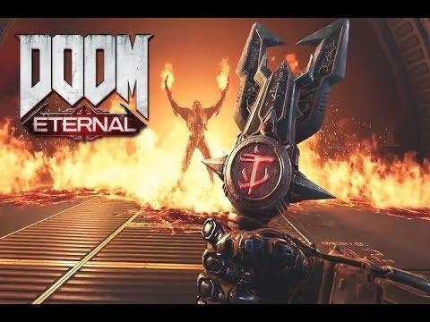 Doom Eternal 2019\ну а пока концовка Doom 2016\боссы мясо снова