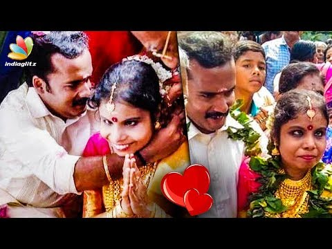 Wedding Video : Singer Vaikom Vijayalakshmi Ties Knot | Latest Tamil Cinema News