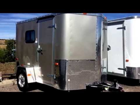 Great 6x10 Enclosed trailer - insulated with windows Colorado Trailers Inc.