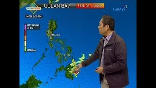 UB: Weather update as of 5:55 a.m. (February 4, 2019)