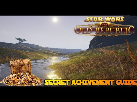 SWTOR Dantooine Secret Achivement Guides - Treasure Hunter & Polly