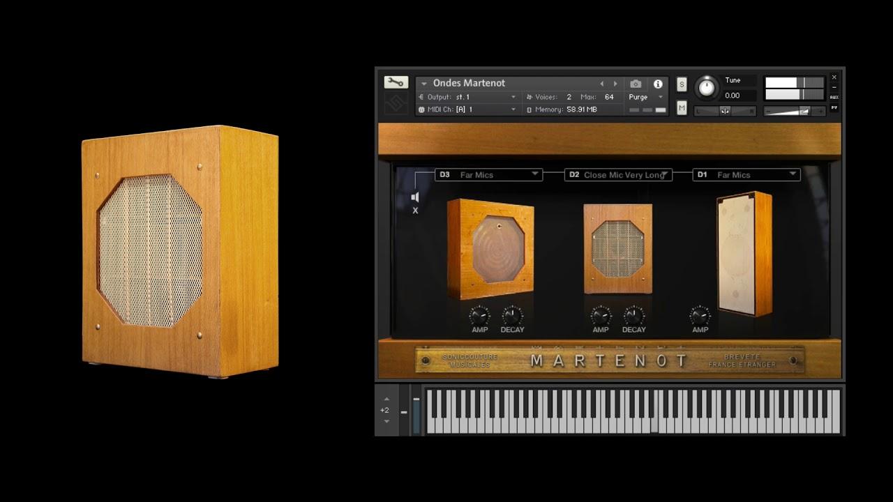 Ondes | Ondes Martenot Sampled Instrument For Kontakt