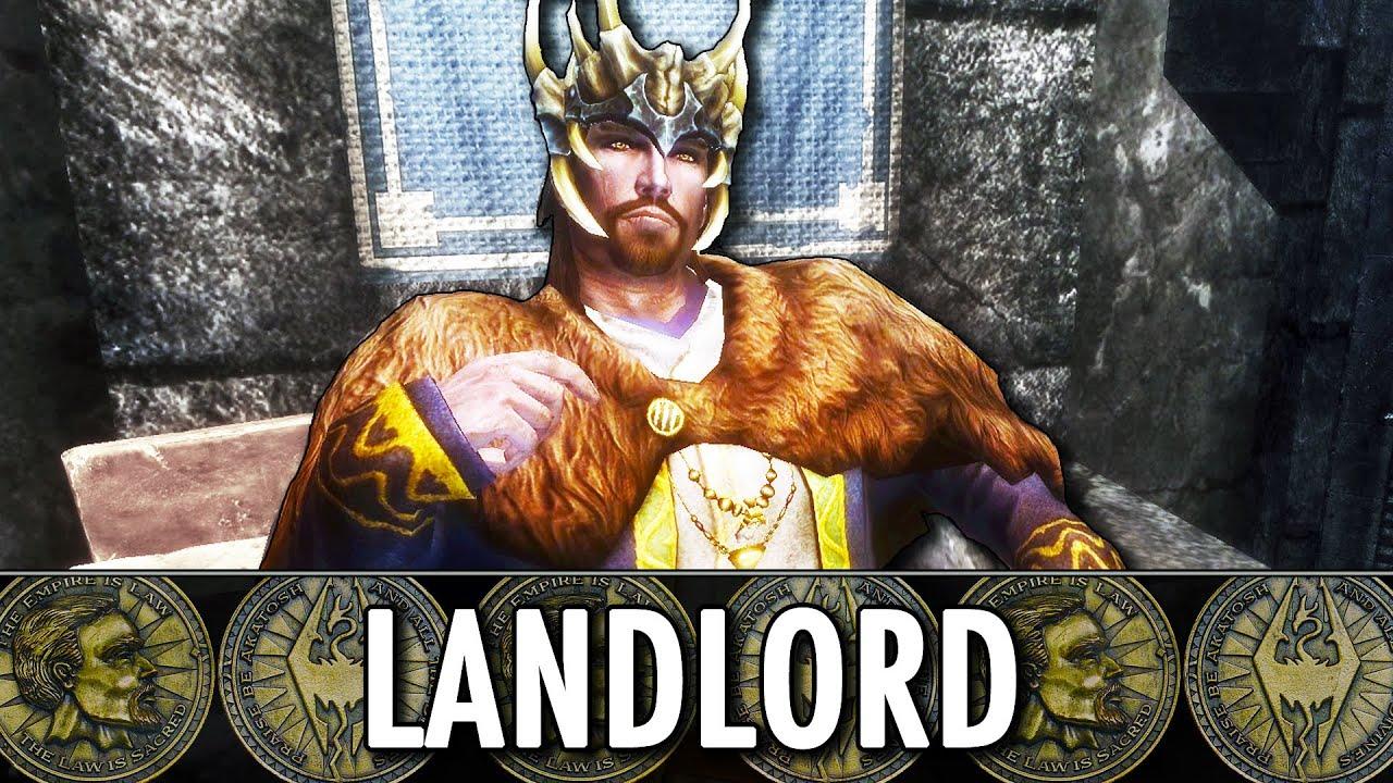 Skyrim Mod: Landlord - Build a Property Empire