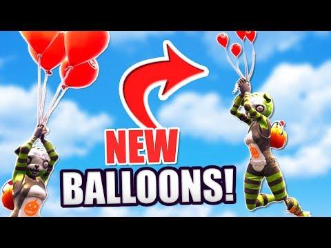 NEW FORTNITE BALLOONS GAMEPLAY + SPOOKY TEAM LEADER SKIN! (Fortnite: Battle Royale Balloon Update) thumbnail