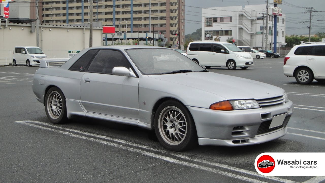 Rare an untouched nissan skyline gt r v spec ii r32 1994 youtube