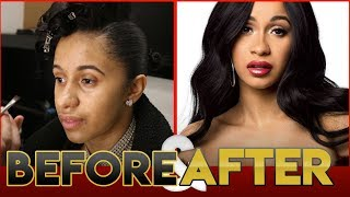 CARDI B | BEFORE & AFTER TRANSFORMATION