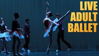 Открытый Балетный урок для взрослых. LIVE