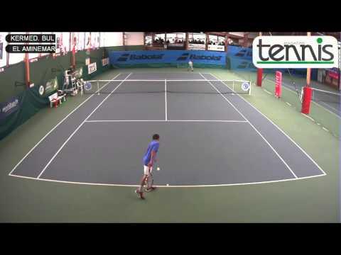 KERMEDCHIEV (BUL) vs EL AMINE (MAR) - Open Super 12 Auray Tennis