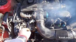 Работа дизеля на бензине. Citroen Berlingo I 1.9d