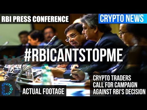 Crypto News - RBI's First Bi-Monthly Monetary Policy Press Conference 2018-2019 (Use Subtitle)