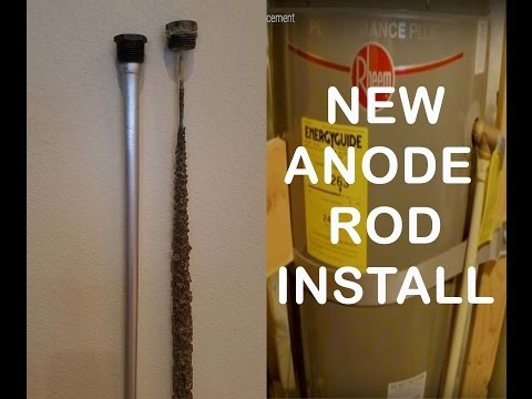 Easy Water Heater Anode Rod Replacement