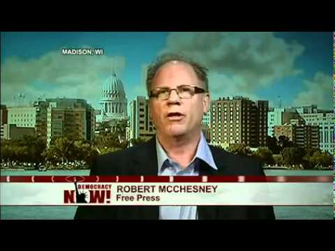 """Robert McChesney of Free Press: Murdoch Hacking Scandal a """"Moment of Truth"""" for U.S. Media"""