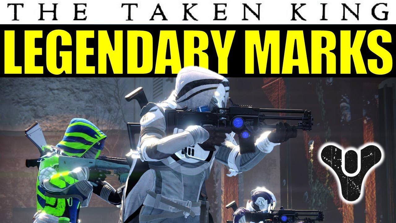 Destiny: Legendary Marks In The Taken King