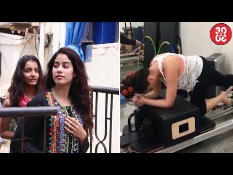 Jhanvi Spotted Outside Her Dance Class | Kareena's Pilates Workout Video Goes Viral