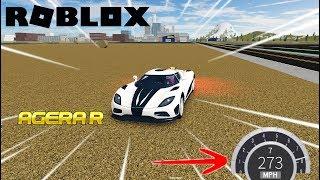 JE VAIS A 273KM/H !! | Roblox Fahrzeug Simulator