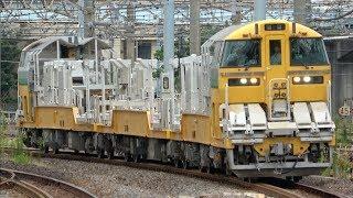 【京成甲種との並びも】キヤE195系LT-1編成 東海道貨物線で試運転