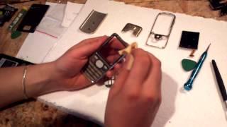 4. Разборка и ремонт Nokia 6700c. Замена дисплея