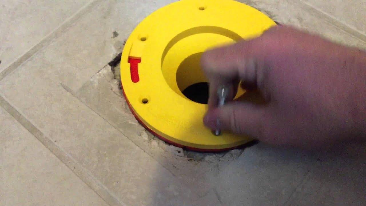 Set Rite Toilet Flange Extender Installation Youtube