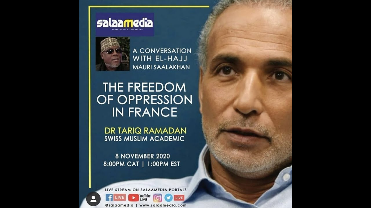 A Conversation with El-Hajj Mauri Saalakhan and Professor Tariq Ramadan - 8-11-2020