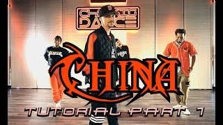 Anuel AA & Ozuna CHINA official Greg Chapkis choreography tutorial #1