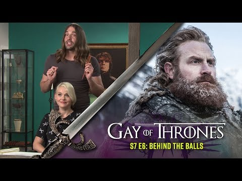 Behind the Balls (with GLOW's Kimmy Gatewood) - Gay Of Thrones S7 E6