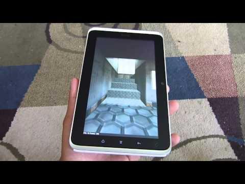 HTC Flyer Benchmark Tests