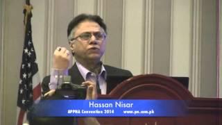 Hassan Nisar addresses APPNA Convention 2014