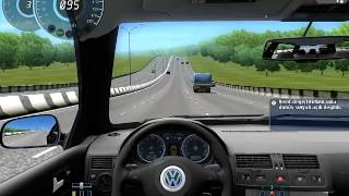 City Car Driving 1.3.3 - Volkswagen Golf R32 Araba yaması İndir [Oyunmodlari.com]