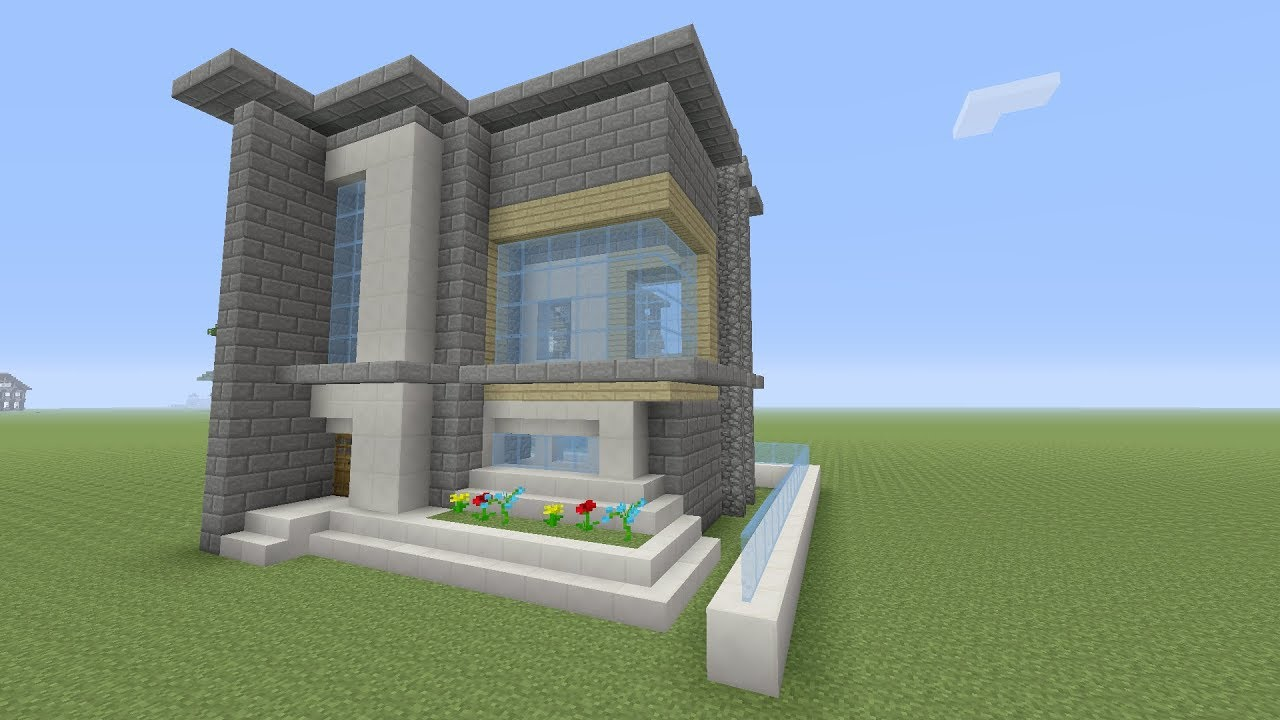 Minecraft een moderne huis maken nederlands youtube