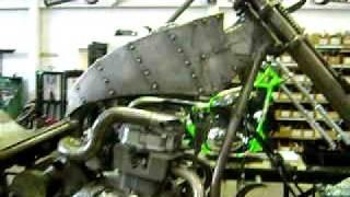 Brukutu Moto Chopper - CB450 Chopper Medieval