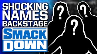Shocking Names Backstage At WWE SmackDown - Return & NXT Call-Ups? | New Hell In A Cell 2021 Matches