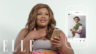 Netflix's Nicole Byer Insta-Stalks Beyoncé, Antoni Porowski, and Cardi B's Food Pics | ELLE