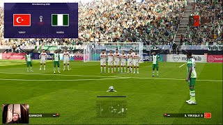 PES 2021 Turkey vs Nigeria K Iheanacho Free Kick Goal FIFA World Cup 2022 Full Match