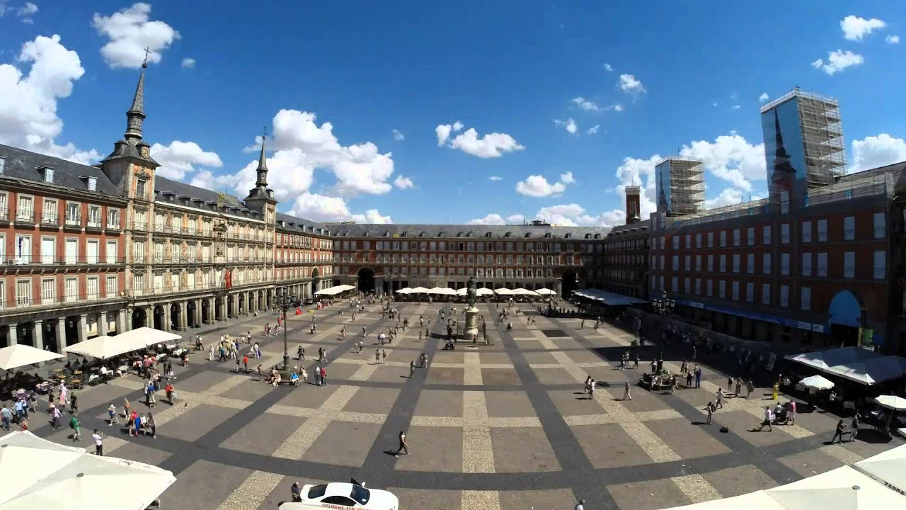 Time-Lapse 3 days - Plaza Mayor - Madrid - Spain - YouTube