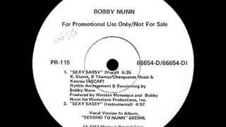 Bobby Nunn - Sexy Sassy (Vocal)