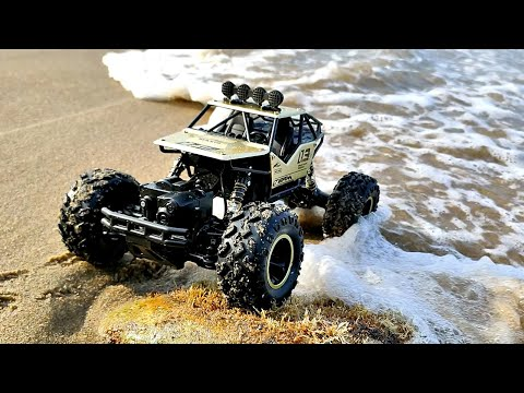 UNBOXING | RC ROCK CRAWLER 4WD 1:16 | Off Road Toy CAR