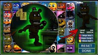 Adventure Phantom Fredbear In FNaF World (Mod)