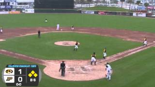 HIGHLIGHT: Mizzou Baseball Triple Play