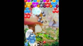 Smurfs Bubble Story Level 63 - NO BOOSTERS