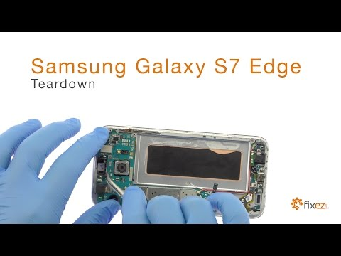 Samsung Galaxy S7 Edge Screen Repair, Teardown and Reassembl